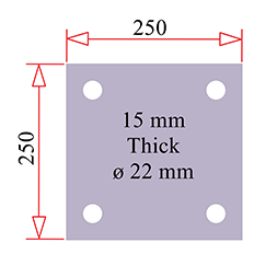 BASEPLATE 250 SQ DIMS 253x253px
