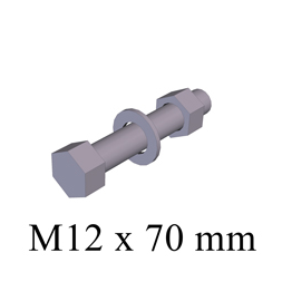 BOLT M12 x 70 TEXT 253x253px