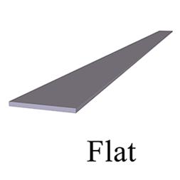 FLAT PLATE 3D TEXT 253x253px