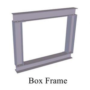 BOX FRAME 3D TEXT