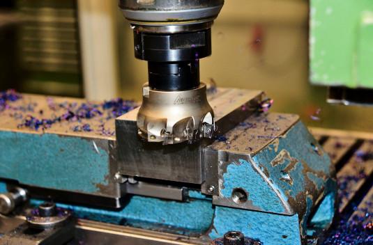 Steel beam milling